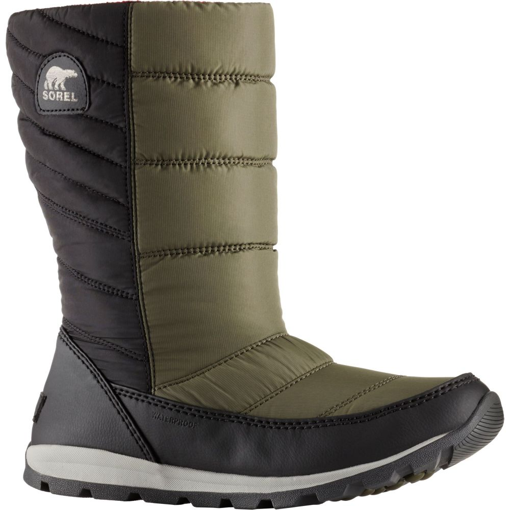 ソレル SOREL レディース ブーツ シューズ・靴【Whitney Mid Waterproof Winter Boots】Nori