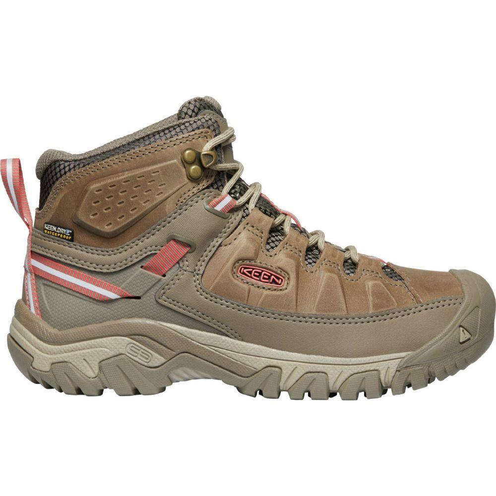 キーン Keen レディース ハイキング・登山 シューズ・靴【KEEN Targhee III Mid Waterproof Hiking Boots】Safari