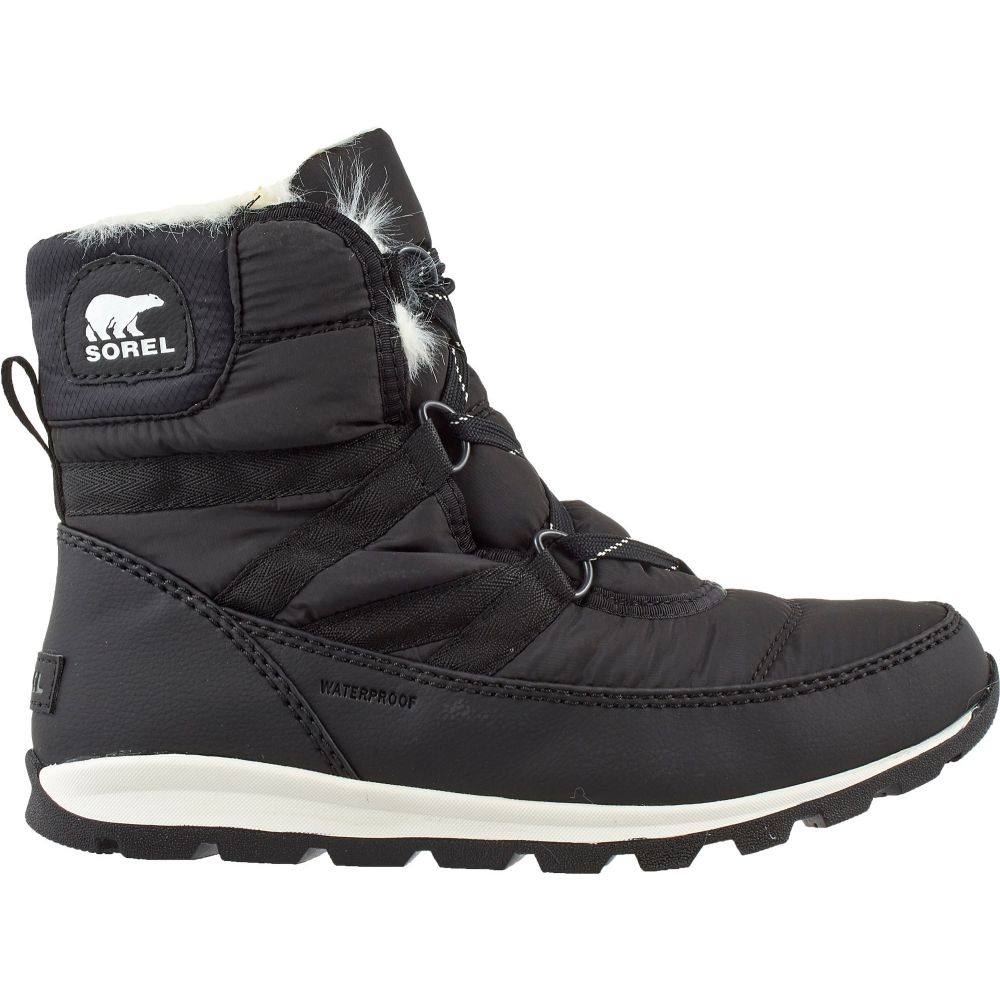 ソレル SOREL レディース ブーツ シューズ・靴【Whitney Short Lace 200g Waterproof Winter Boots】Black