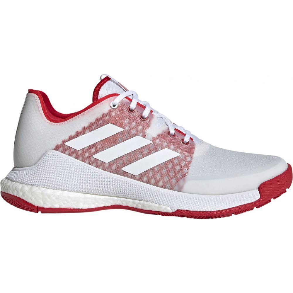 アディダス adidas レディース バレーボール シューズ・靴【Crazyflight Volleyball Shoes】White/Red