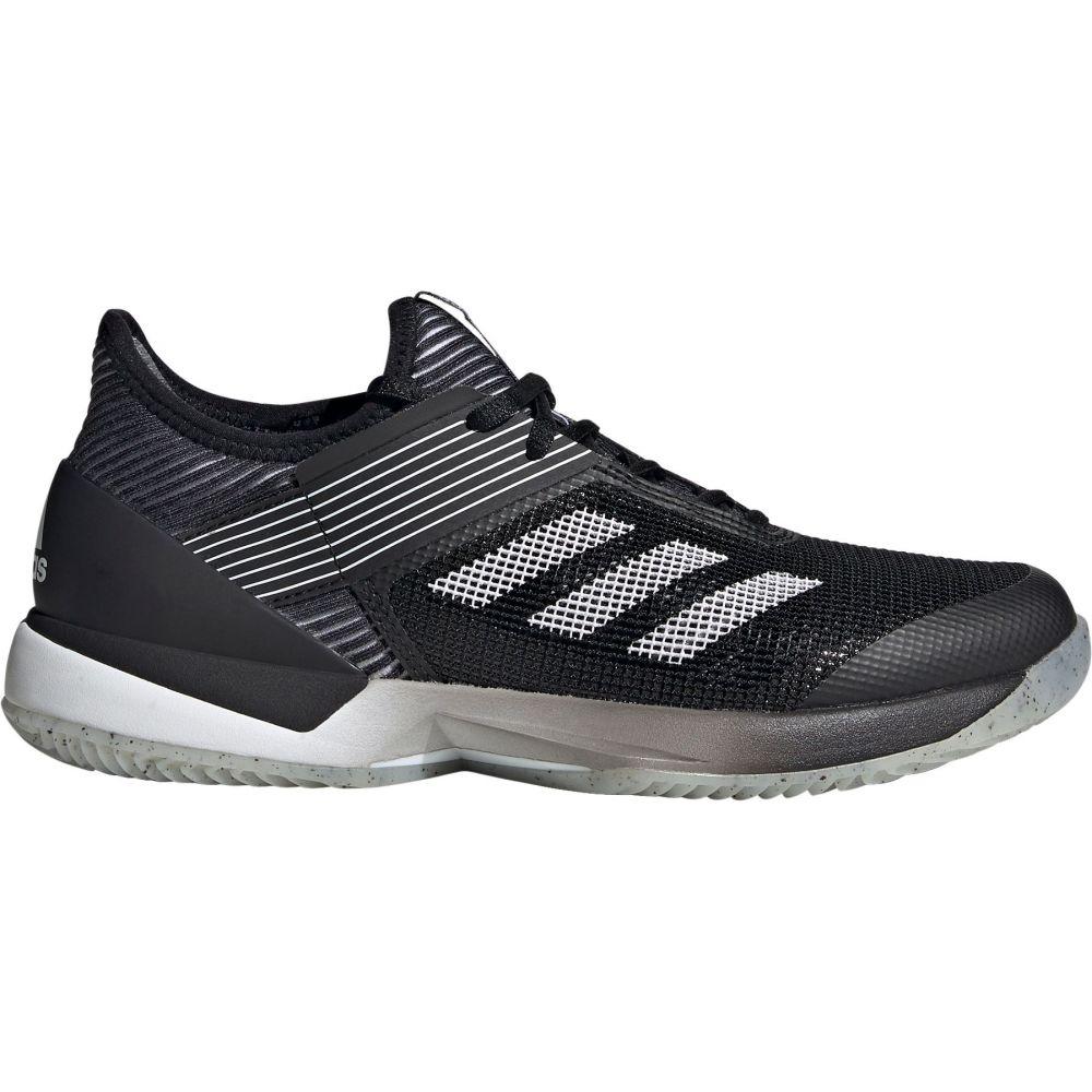 アディダス adidas レディース テニス シューズ・靴【Ubersonic 3.0 Clay Tennis Shoes】Black/Grey