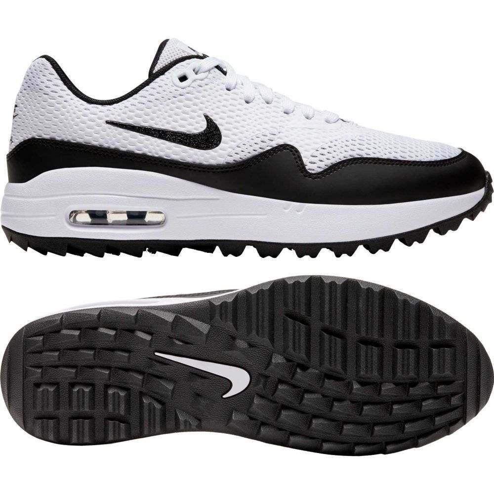 ナイキ Nike レディース ゴルフ シューズ・靴【2020 Air Max 1 G Golf Shoes】White/Black