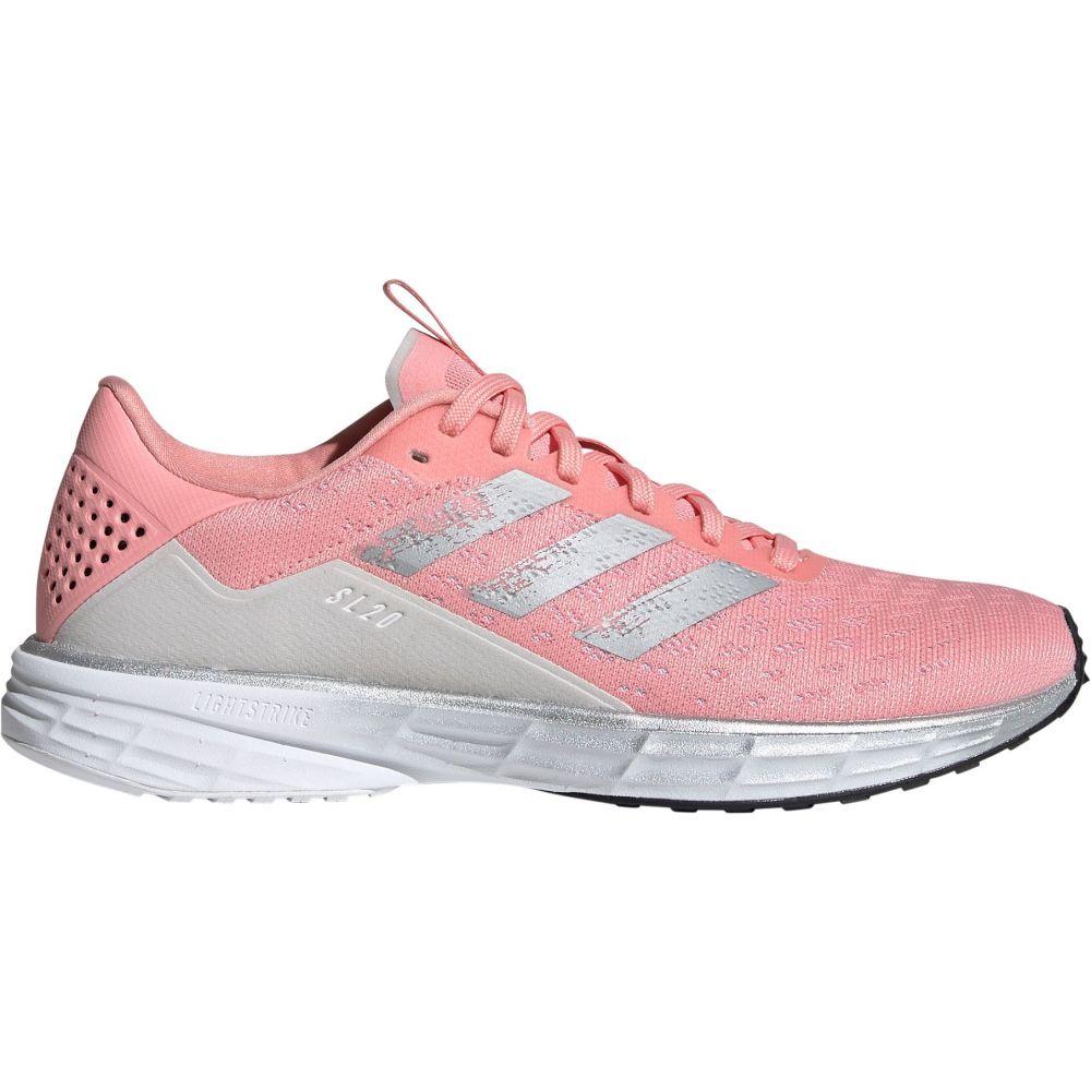 アディダス adidas レディース ランニング・ウォーキング シューズ・靴【SL20 Running Shoes】Pink/Grey