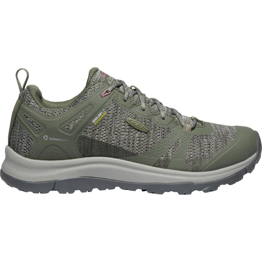 キーン Keen レディース ハイキング・登山 シューズ・靴【KEEN Terradora II Waterproof Hiking Shoes】Dusty Olive