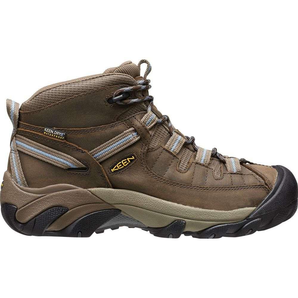 キーン Keen レディース ハイキング・登山 シューズ・靴【KEEN Targhee II Mid Waterproof Hiking Boots】Dark Earth