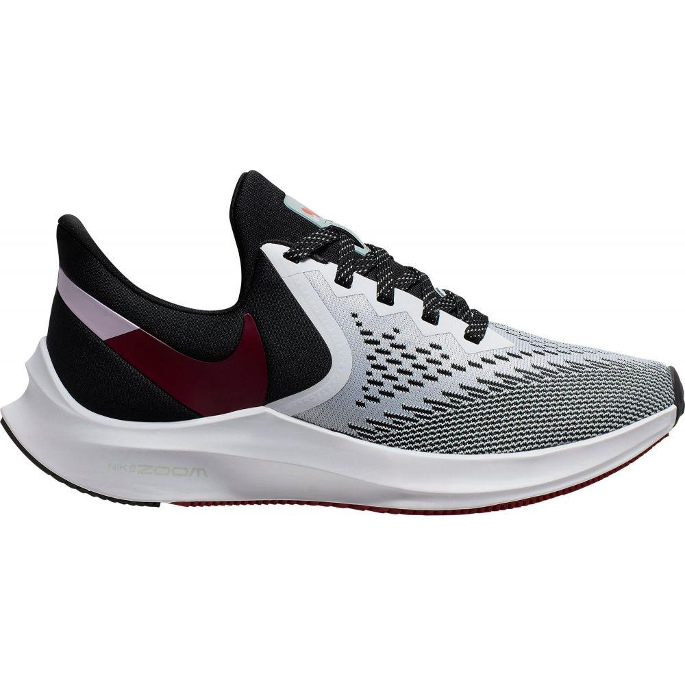 ナイキ Nike レディース ランニング・ウォーキング シューズ・靴【Zoom Winflo 6 Running Shoes】White/Red/Black