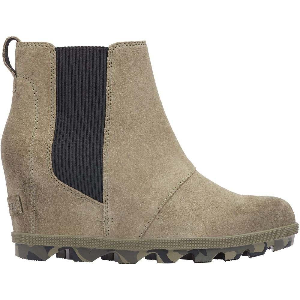 ソレル SOREL レディース ブーツ シューズ・靴【Joan of Arctic Wedge II Chelsea Boots】Sage