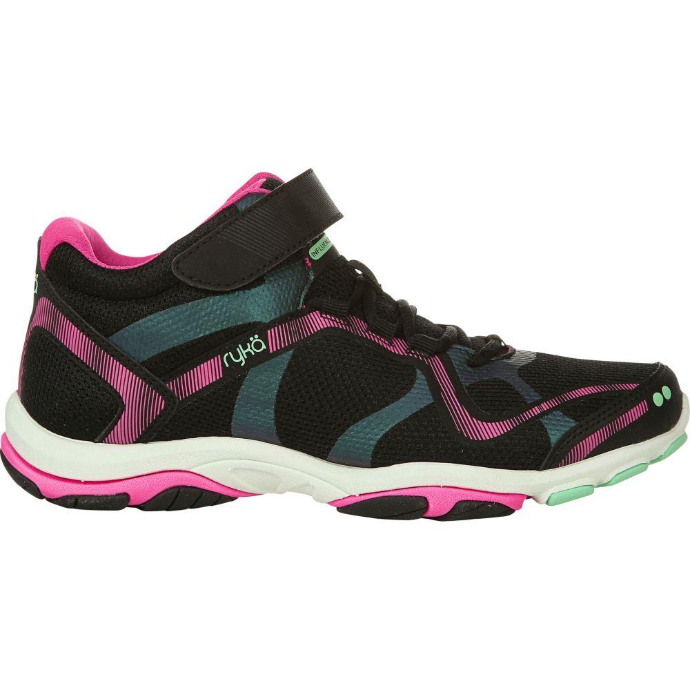 ライカ Ryka レディース フィットネス・トレーニング シューズ・靴【Influence Mid Training Shoes】Black