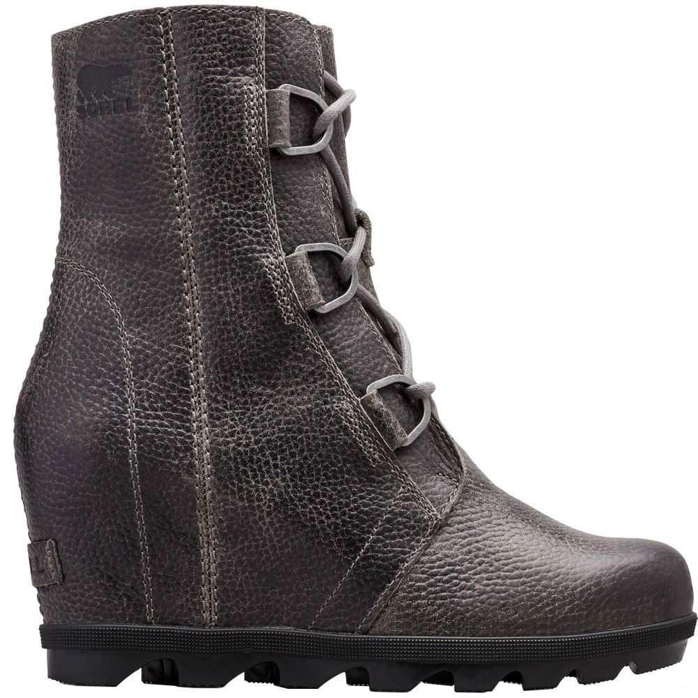 ソレル SOREL レディース ブーツ シューズ・靴【Joan of Arctic Wedge II Boots】Quarry