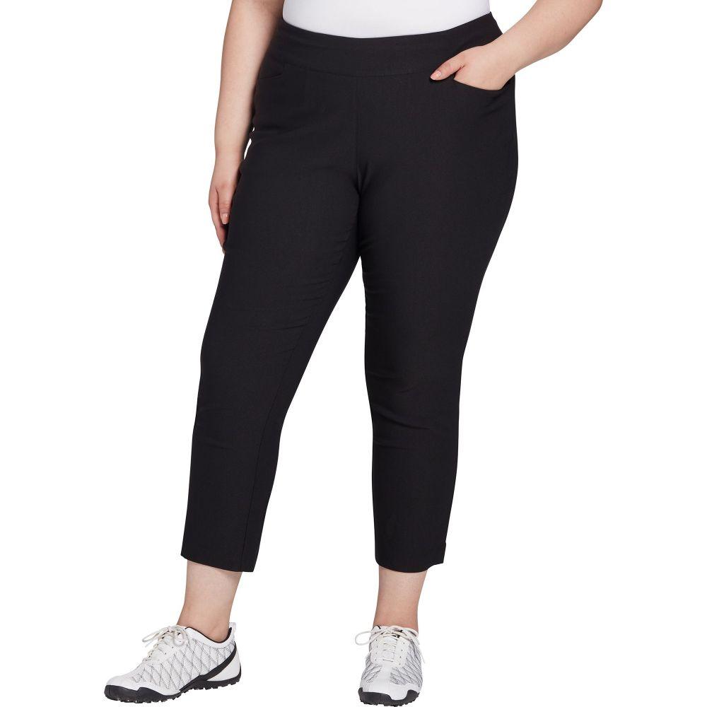 レディー ハーゲン Lady Hagen レディース ゴルフ ボトムス・パンツ【Tummy Control Golf Pants - Extended Sizes】Black