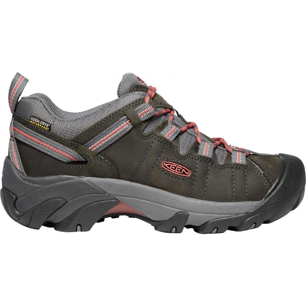 キーン Keen レディース ハイキング・登山 シューズ・靴【KEEN Targhee II Waterproof Hiking Shoes】Magnet/Coral