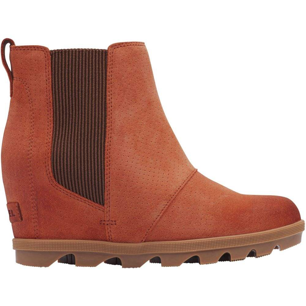 ソレル SOREL レディース ブーツ シューズ・靴【Joan of Arctic Wedge II Chelsea Boots】Teak