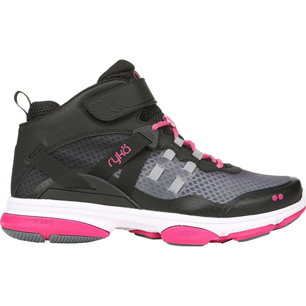 ライカ Ryka レディース フィットネス・トレーニング シューズ・靴【Devotion XT Mid Training Shoes】Black/Pink