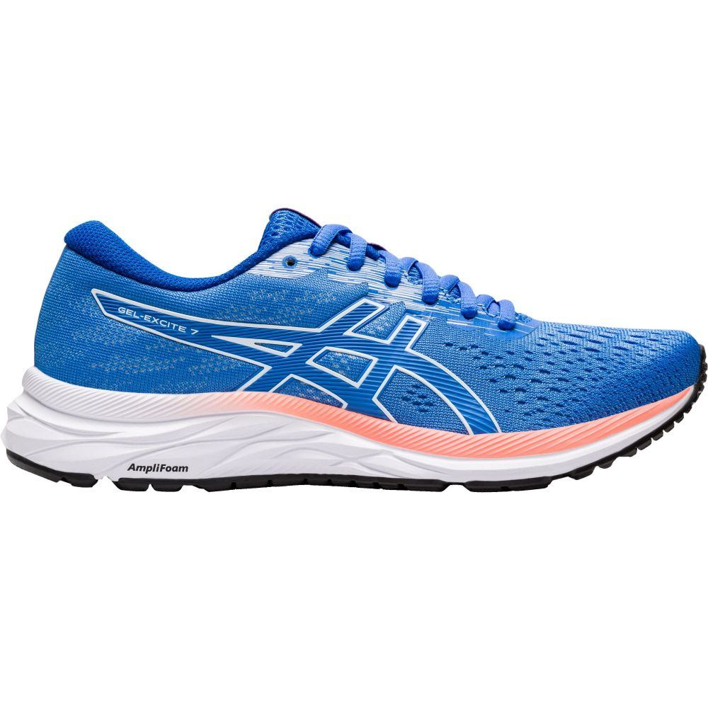 アシックス ASICS レディース ランニング・ウォーキング シューズ・靴【GEL-EXCITE 7 Running Shoes】Blue/White