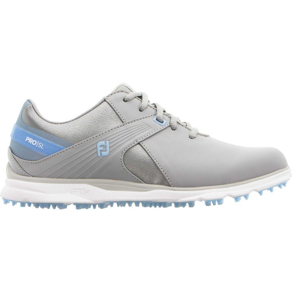 フットジョイ FootJoy レディース ゴルフ シューズ・靴【2020 Pro/SL Golf Shoes】Grey/Light Blue