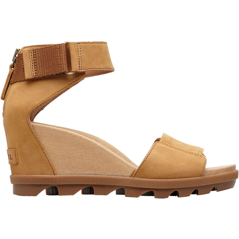 ソレル SOREL レディース サンダル・ミュール シューズ・靴【Joanie II Ankle Strap Sandals】Camel brown