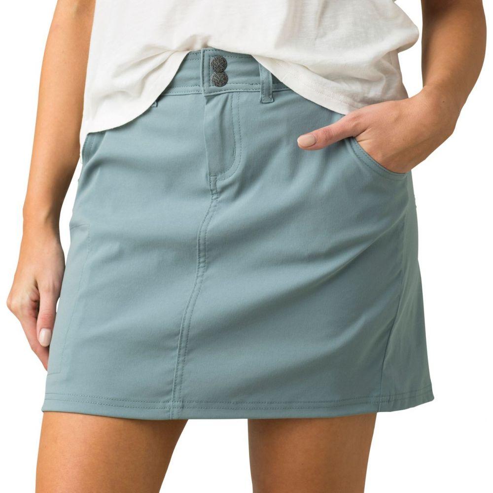 プラーナ prAna レディース ミニスカート スカート【Halle Skort】Smoky Blue