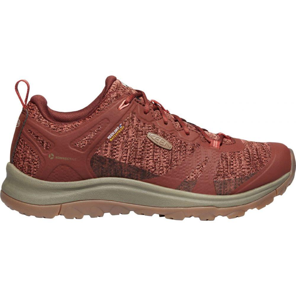 キーン Keen レディース ハイキング・登山 シューズ・靴【KEEN Terradora II Waterproof Hiking Shoes】Cherry Mahogany