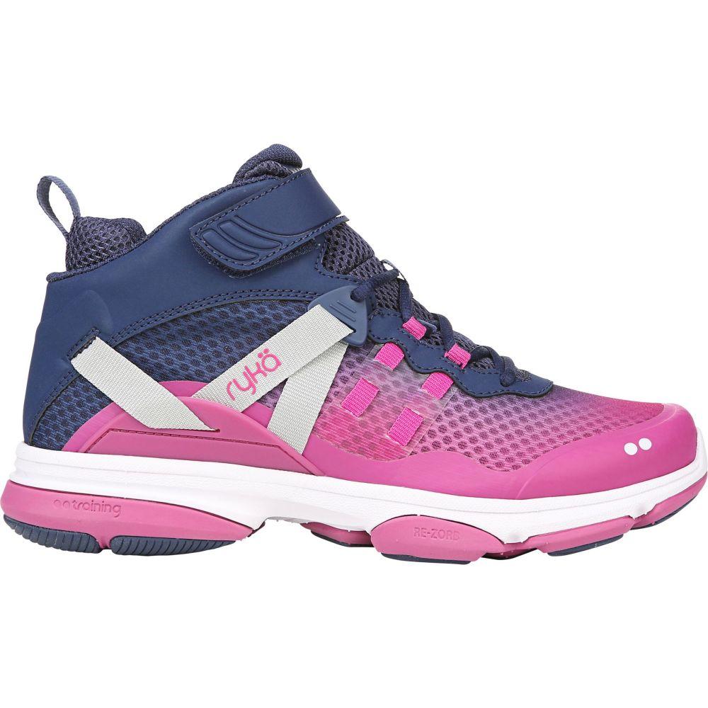 ライカ Ryka レディース フィットネス・トレーニング シューズ・靴【Devotion XT Mid Training Shoes】Ink Blue