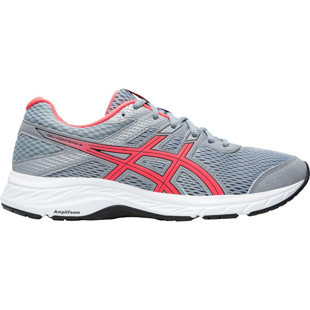 アシックス ASICS レディース ランニング・ウォーキング シューズ・靴【GEL-Contend 6 Running Shoes】Grey/Grey/Pnk