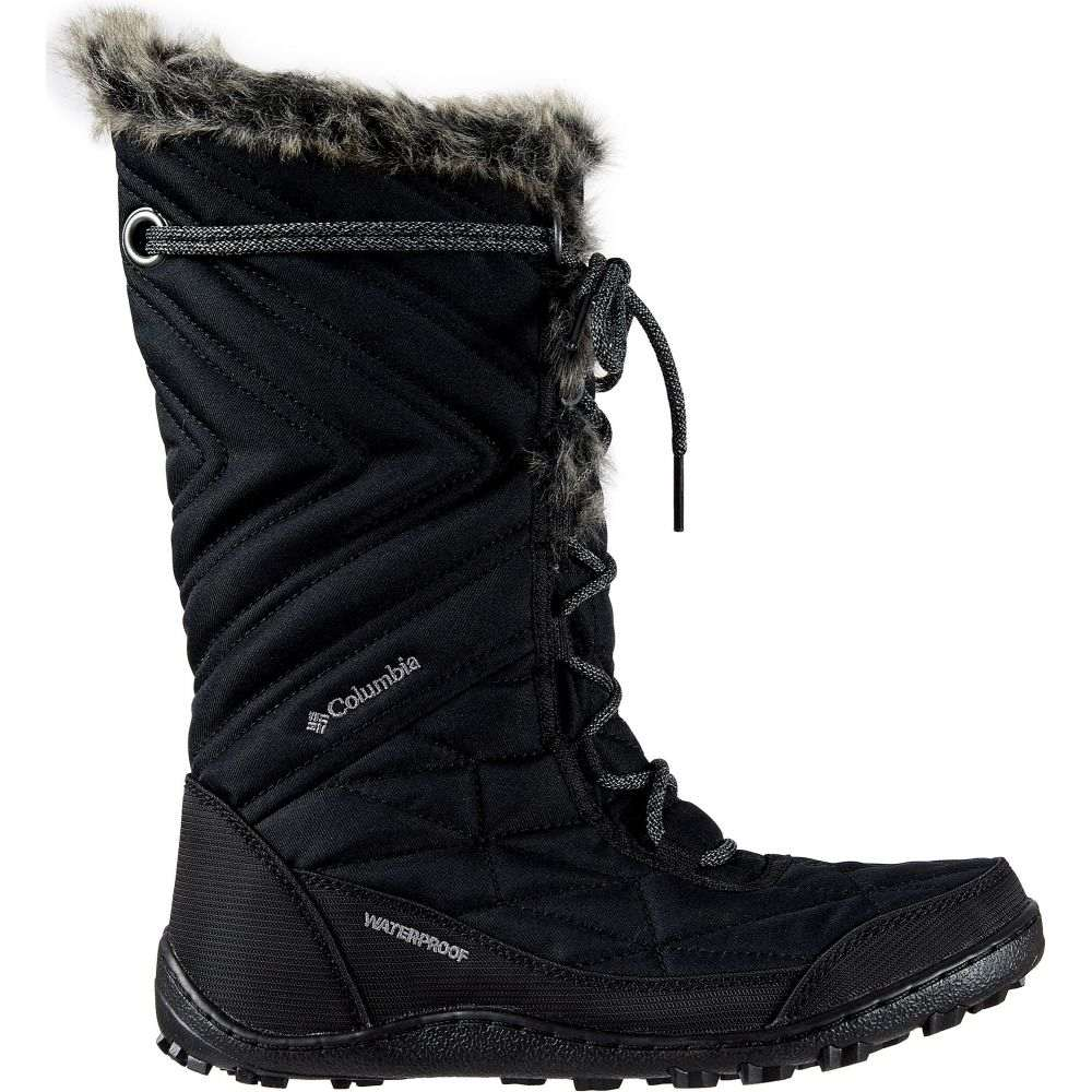 コロンビア Columbia レディース ブーツ シューズ・靴【Minx Mid III 200g Winter Boots】Black/Ti Grey Steel