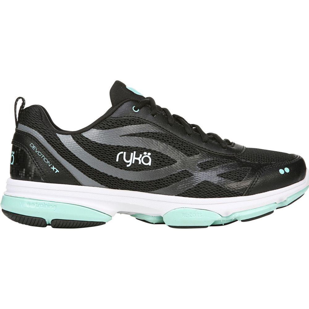 ライカ Ryka レディース フィットネス・トレーニング シューズ・靴【Devotion XT Training Shoes】Black/Teal