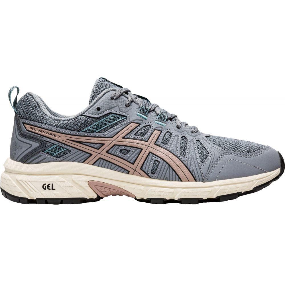 アシックス ASICS レディース ランニング・ウォーキング シューズ・靴【GEL-Venture 7 Trail Running Shoes】Grey/Gold