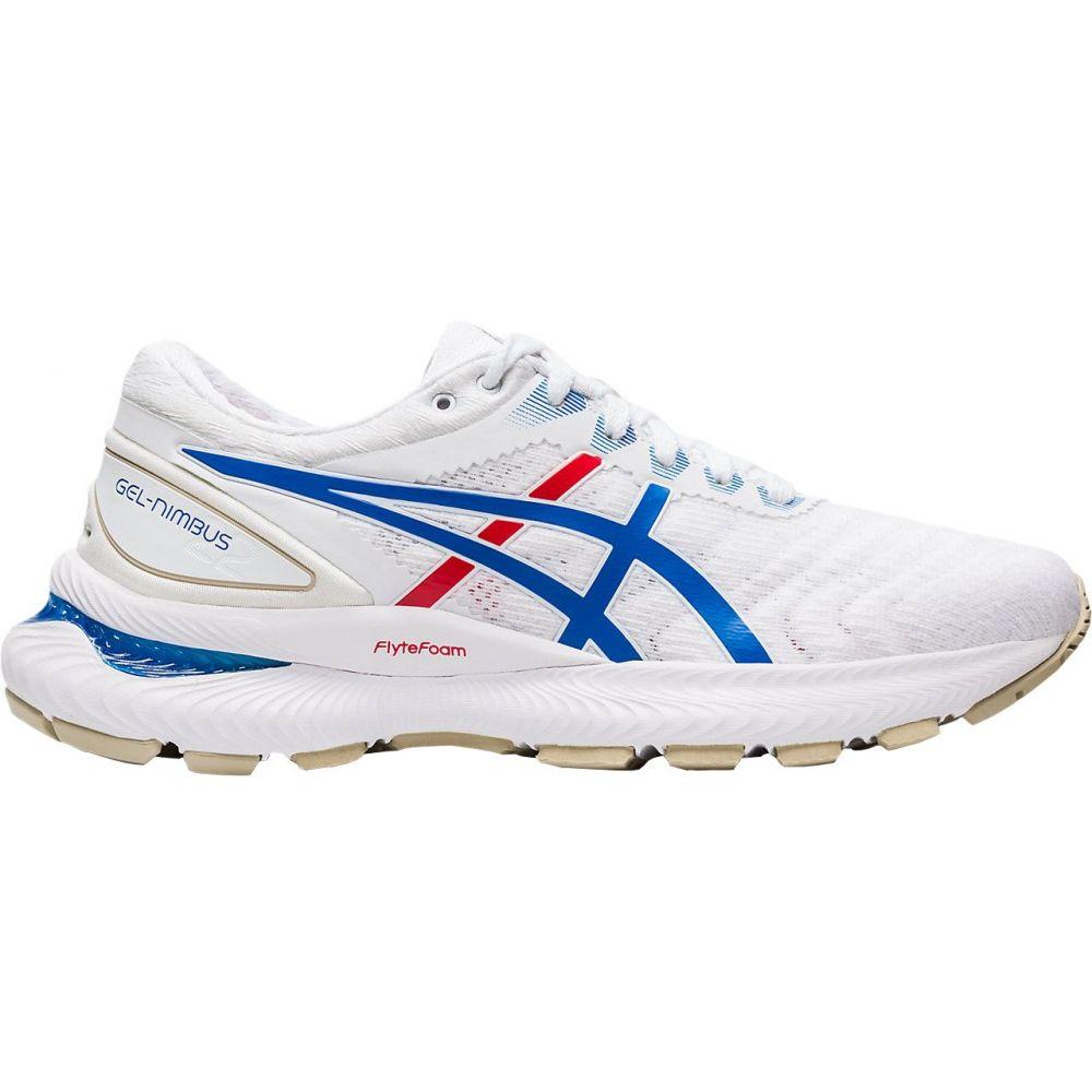 アシックス ASICS レディース ランニング・ウォーキング シューズ・靴【GEL-Nimbus 22 Retro Tokyo Running Shoes】White/Red/Blue