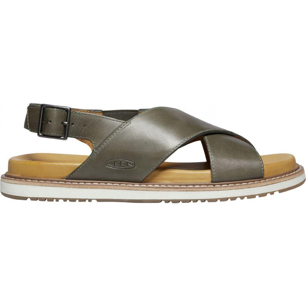 キーン Keen レディース サンダル・ミュール シューズ・靴【KEEN Lana Cross Strap Sandals】Dusty Olive