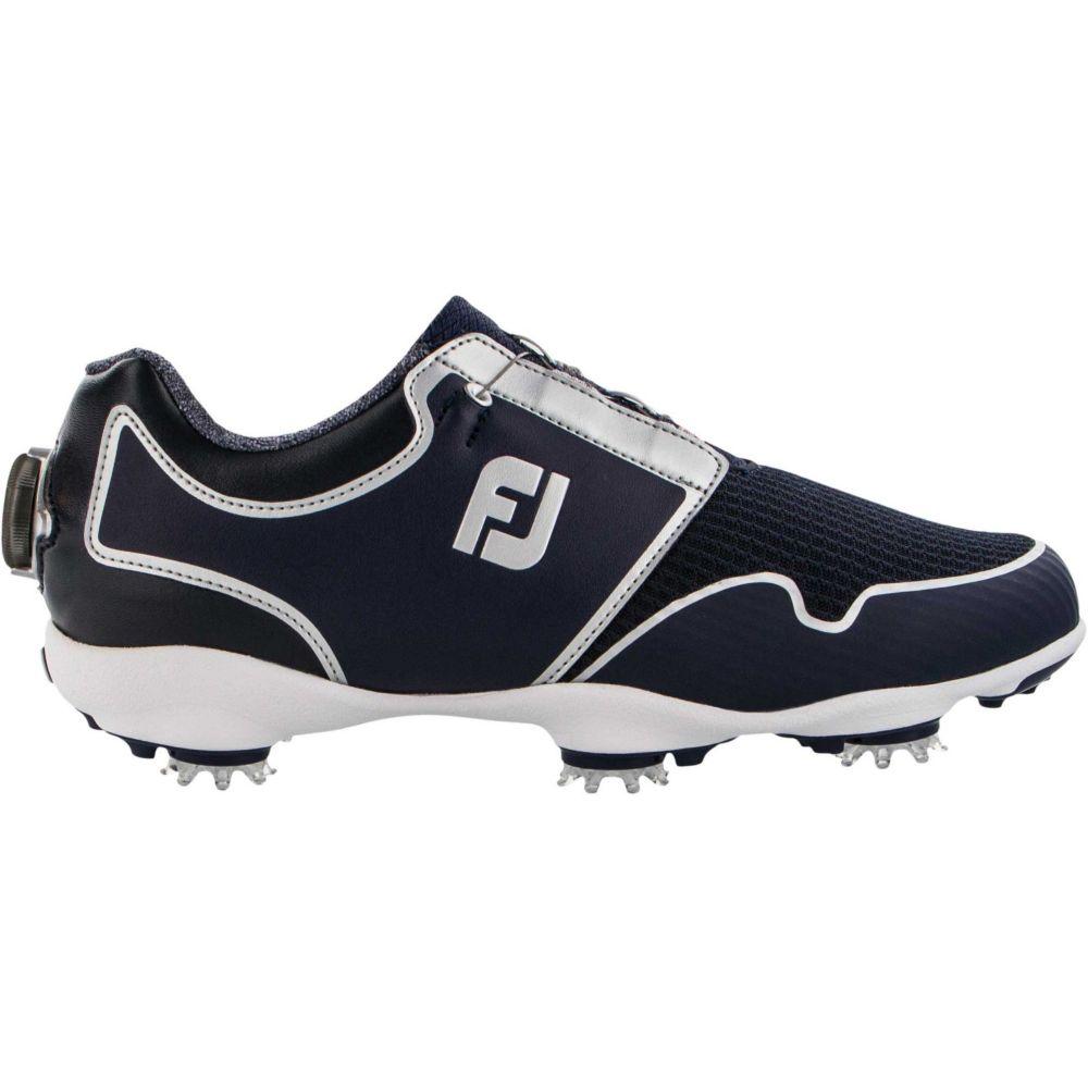 フットジョイ FootJoy レディース ゴルフ シューズ・靴【Sport TF BOA Golf Shoes】Navy/Silver
