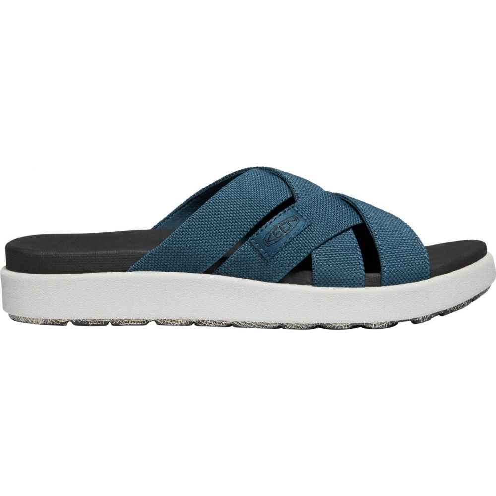 キーン Keen レディース サンダル・ミュール シューズ・靴【KEEN Elle Slide Sandals】Majolica Blue