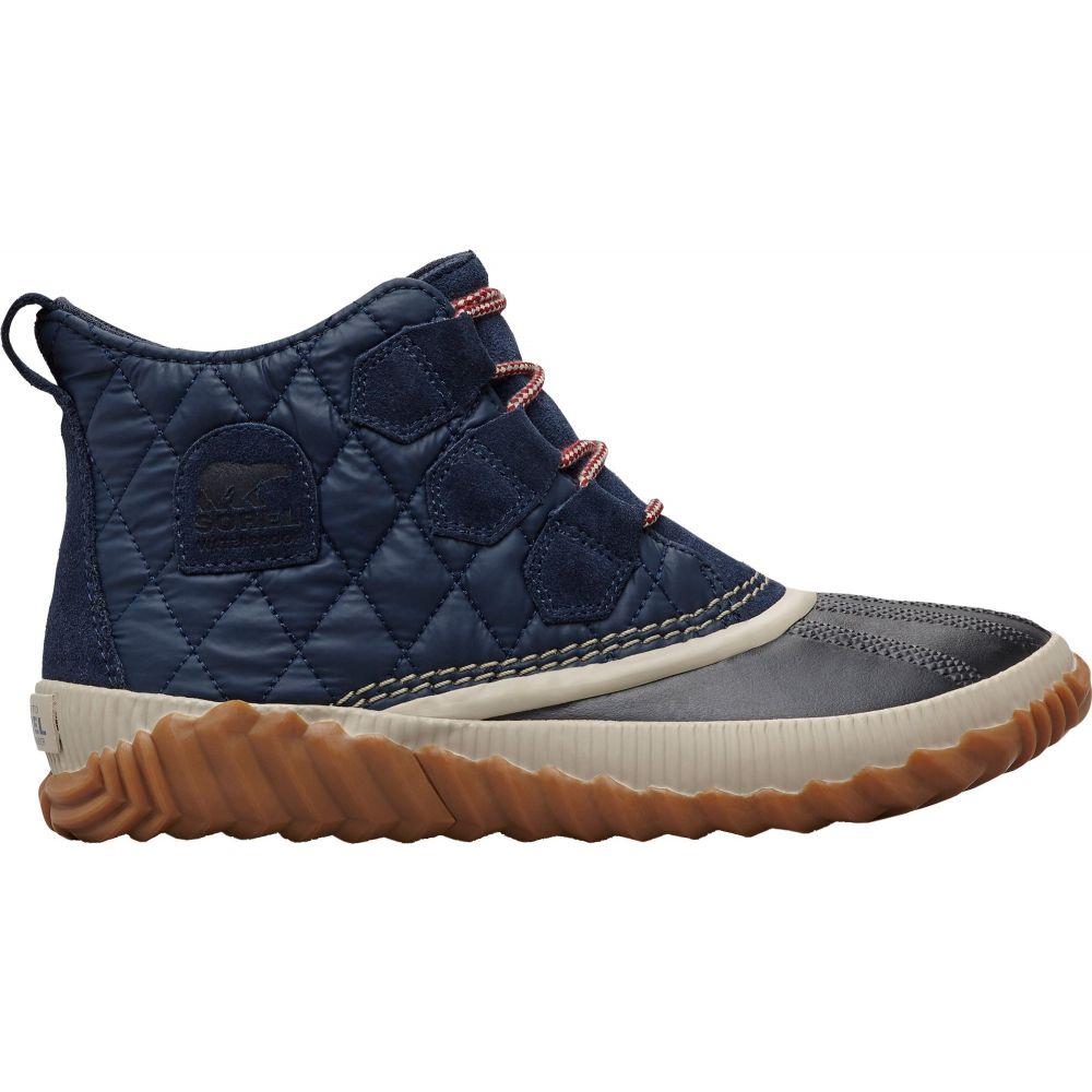 ソレル SOREL レディース ブーツ シューズ・靴【Out N About Plus Waterproof Winter Boots】Collegiate Navy