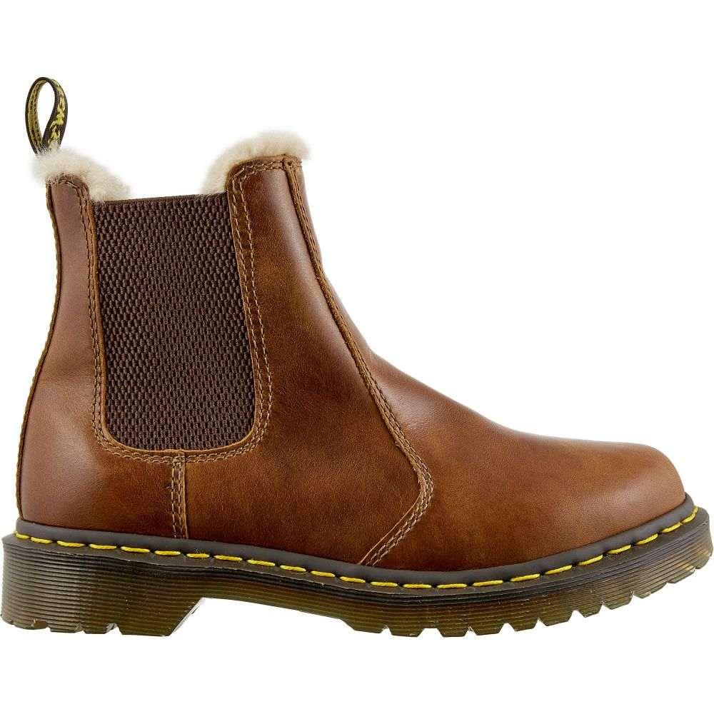 ドクターマーチン Dr. Martens レディース ブーツ シューズ・靴【2976 Leonore Lined Chelsea Winter Boots】Butterscotch Orleans