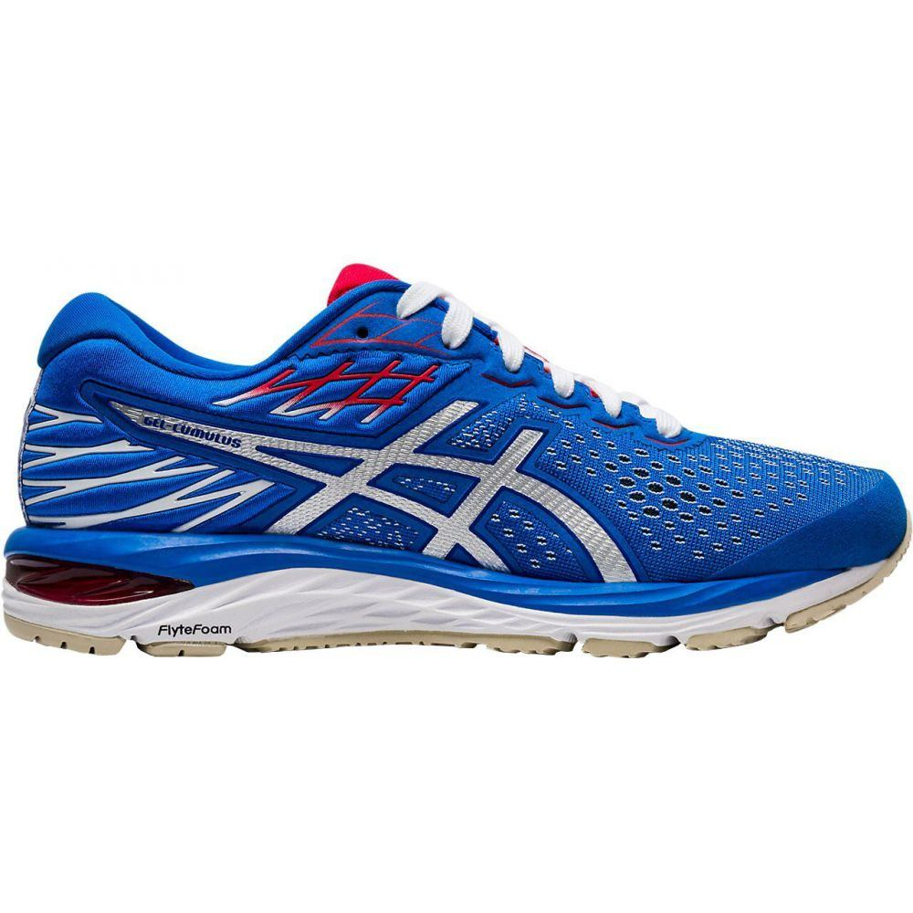 アシックス ASICS レディース ランニング・ウォーキング シューズ・靴【GEL-Cumulus 21 Retro Tokyo Running Shoes】Blue/White/Red