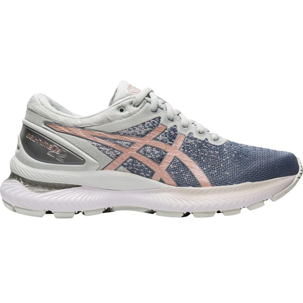 アシックス ASICS レディース ランニング・ウォーキング シューズ・靴【GEL-Nimbus 22 Knit Running Shoes】Grey/Rose