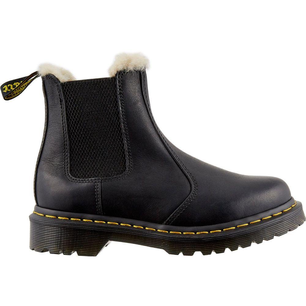 ドクターマーチン Dr. Martens レディース ブーツ シューズ・靴【2976 Leonore Lined Chelsea Winter Boots】Black Burnished Wyoming