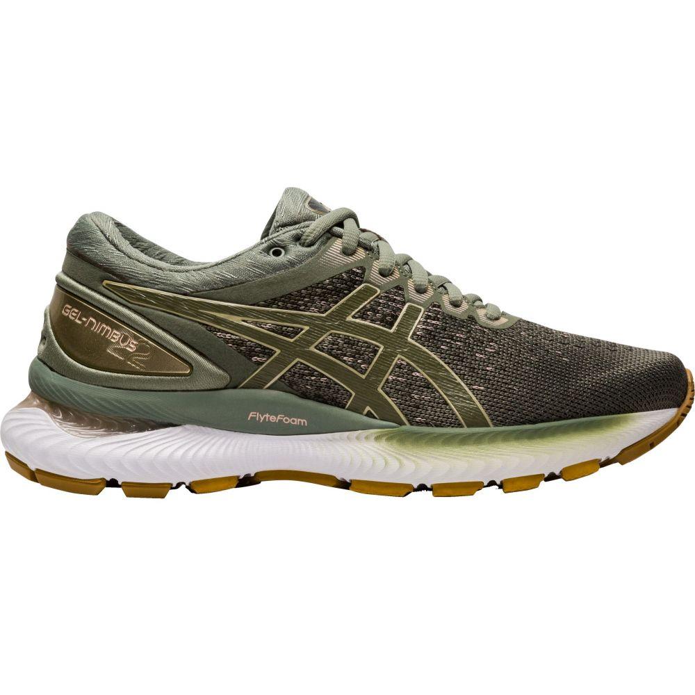 アシックス ASICS レディース ランニング・ウォーキング シューズ・靴【GEL-Nimbus 22 Knit Running Shoes】Green