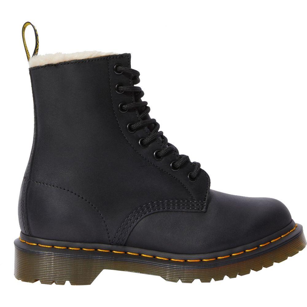 ドクターマーチン Dr. Martens レディース ブーツ シューズ・靴【1460 Serena Wyoming Lined Winter Boots】Black Burnished Wyoming
