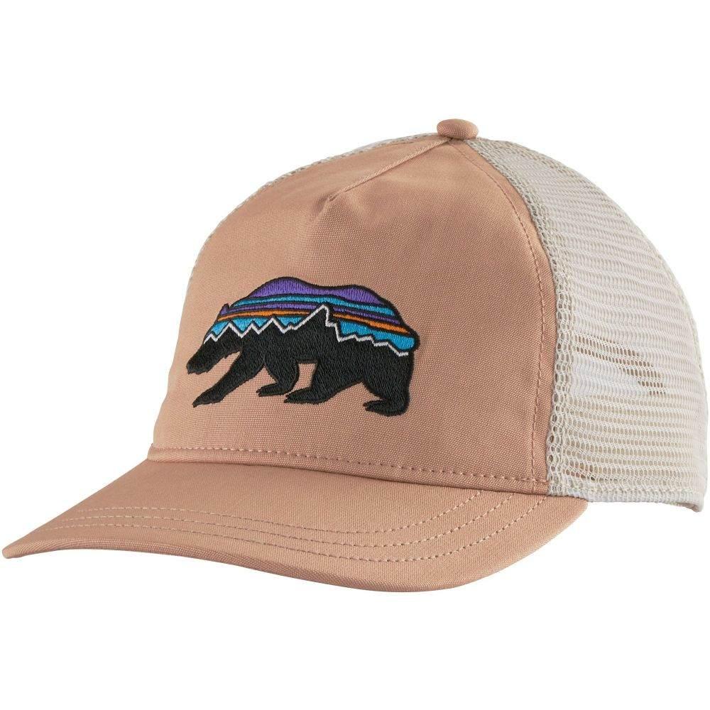 パタゴニア Patagonia レディース キャップ 帽子【Fitz Roy Bear Layback Trucker Hat】Scotch Pink