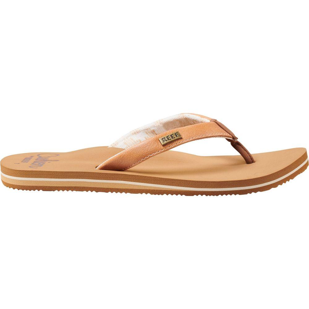 リーフ Reef レディース ビーチサンダル シューズ・靴【Cushion Sands Flip Flops】Natural