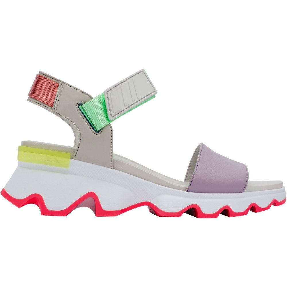 ソレル SOREL レディース サンダル・ミュール シューズ・靴【Kinetic Sandals】Dove