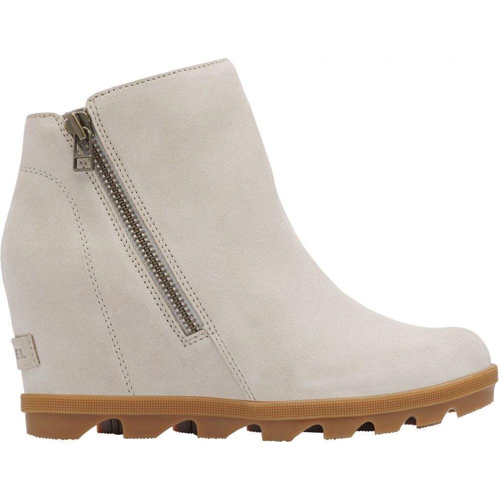 ソレル SOREL レディース ブーツ シューズ・靴【Joan of Arctic Wedge II Zip Boots】Soft Taupe