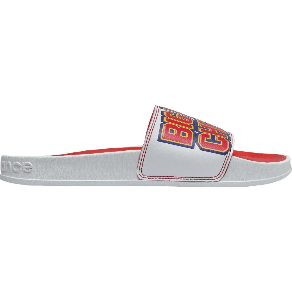 ニューバランス New Balance レディース サンダル・ミュール シューズ・靴【Big League Chew Slides】White/Red