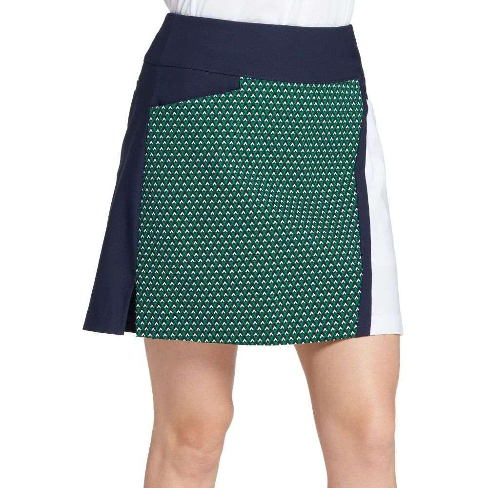 レディー ハーゲン Lady Hagen レディース ゴルフ ボトムス・パンツ【Print Golf Skort】Green Placed