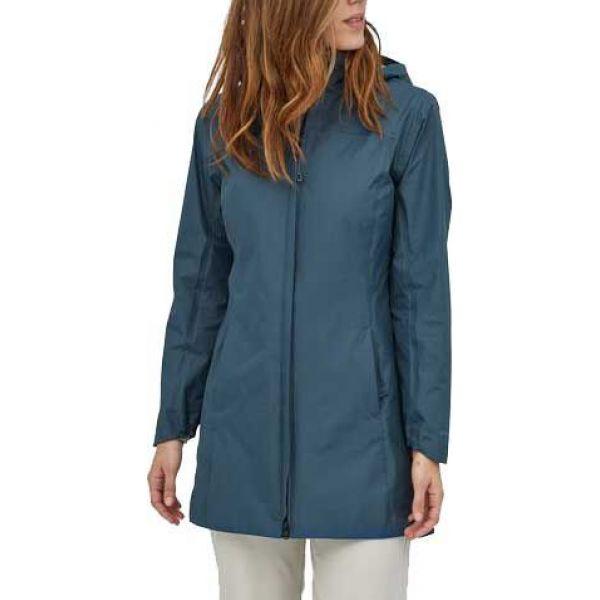 パタゴニア Patagonia レディース コート アウター【Torrentshell 3L City Coat】Stone Blue