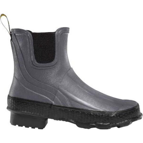 ラクロッセ LaCrosse レディース ハイキング・登山 シューズ・靴【Grange Chelsea 5'' Rubber Hunting Boots】Gray/Black