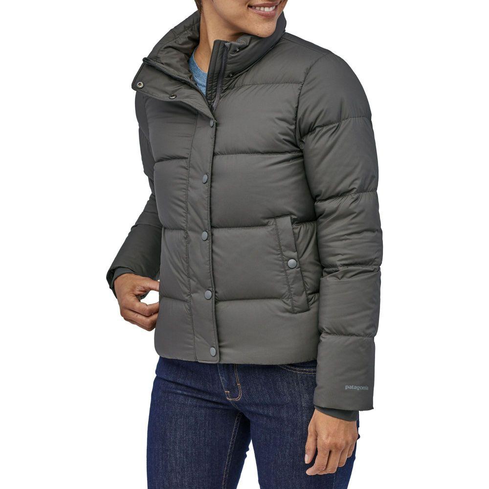 パタゴニア Patagonia レディース ダウン・中綿ジャケット アウター【Silent Down Jacket】Forge Grey