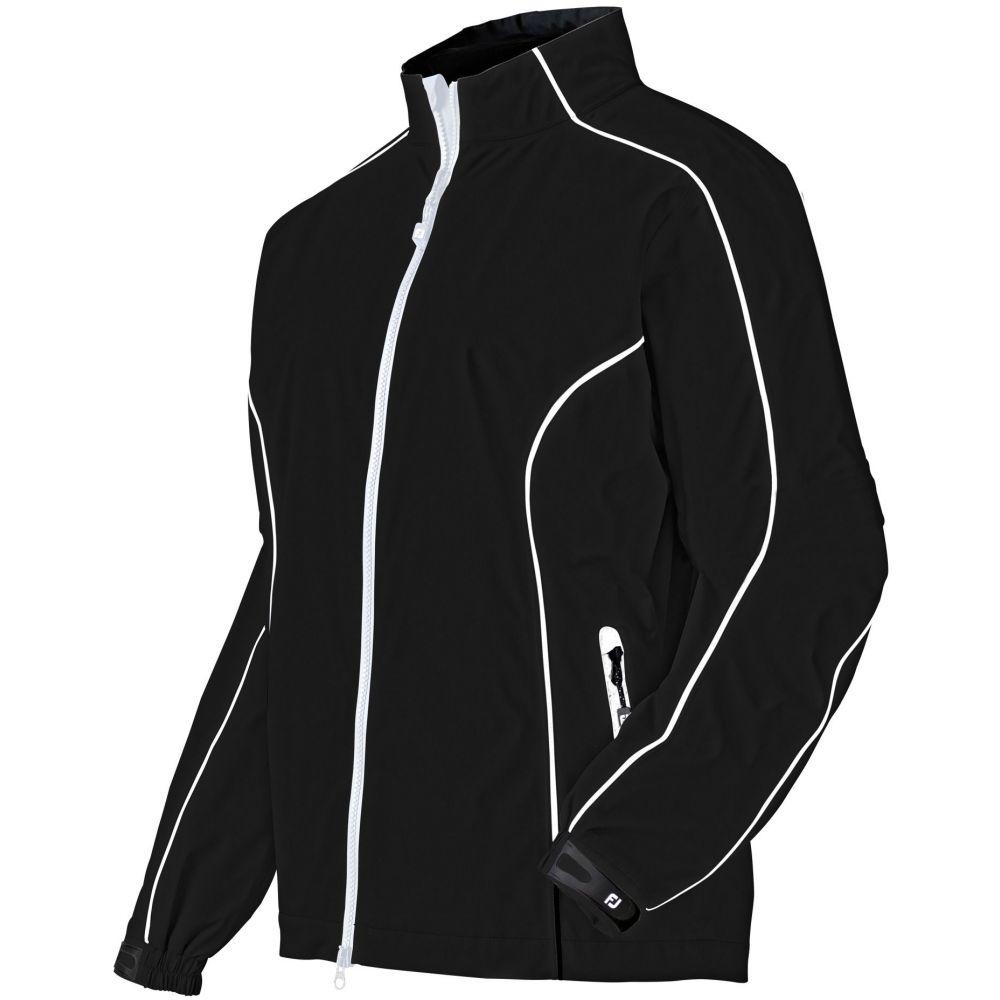 フットジョイ FootJoy レディース ゴルフ アウター【DryJoys Performance Golf Rain Jacket】Black/White