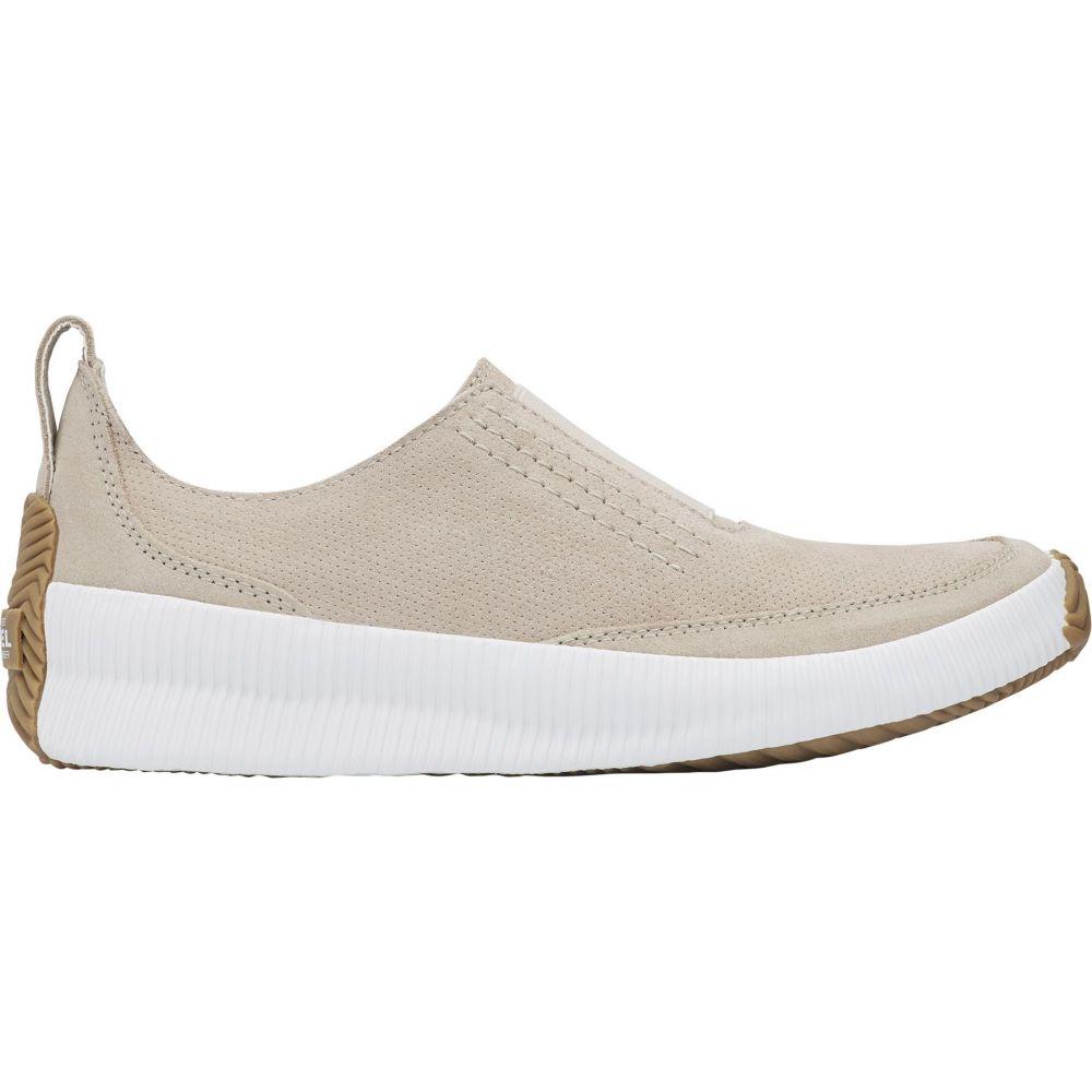 ソレル SOREL レディース スリッポン・フラット シューズ・靴【Out N About Plus Slip-On Shoes】Taupe