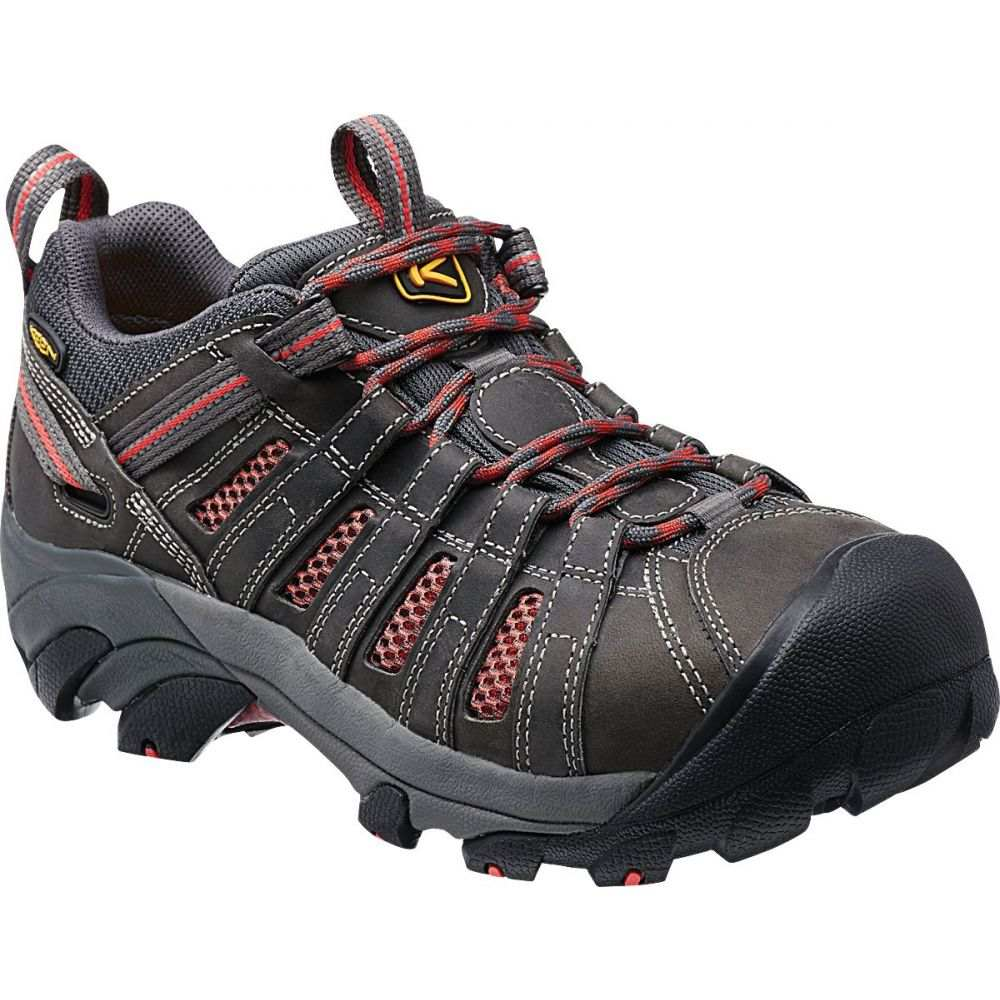 キーン Keen レディース シューズ・靴 【KEEN Flint Steel Toe Work Shoes】Magnet Rose